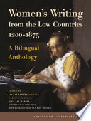 Women s Writing from the Low Countries 1200 1875