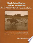 Middle School Teacher Plans and Resources for a Land Remembered  Student Edition