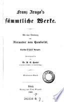 Franz Arago's Sammtliche Werke