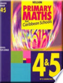 Caribbean Primary Maths   Junior Book 4   5 Up to Examination Level