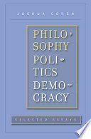 Philosophy  Politics  Democracy