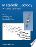 Metabolic Ecology