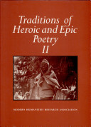 Traditions of Heroic and Epic Poetry