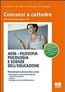 A036  Filosofia psicologia e scienze dell educazione
