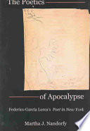 The Poetics Of Apocalypse : spain on a journey that would become a...