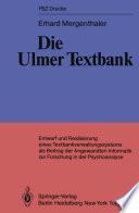 Die Ulmer Textbank
