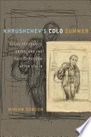 Khrushchev s Cold Summer