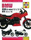 BMW K100  2 Valve   83 to  92 K75  85 to  96