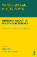 Interest Group Politics in Europe