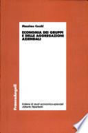Economia dei gruppi e delle aggregazioni aziendali