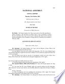 Kenya National Assembly Official Record (Hansard)