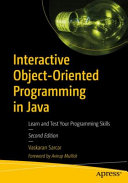 Interactive Object Oriented Programming In Java