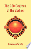 Three Hundred and Sixty Degrees of the Zodiac