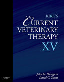 Kirk's Current Veterinary Therapy XV - E-Book
