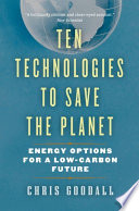 Ten Technologies to Save the Planet