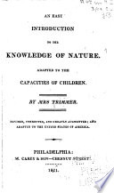 An Easy Introduction to the Knowledge of Nature
