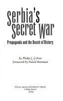 Serbia s secret war