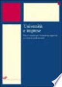 Universit   e imprese  Nuovi scenari per l istruzione superiore e i sistemi professionali