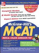 McGraw Hill s New MCAT
