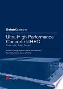 Ultra High Performance Concrete Uhpc
