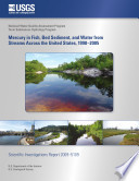 Mercury in Fish  Bed Sediment  and Water from Streams Across the United States  1998 2005