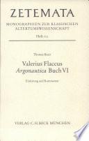Valerius Flaccus Argonautica Buch sechs