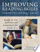 Improving Reading Skills Across the Content Areas