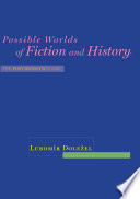 Possible Worlds Of Fiction And History book