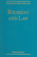 Rousseau and Law