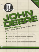 John Deere Shop Manual 1020 1520 1530 2020