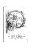 Pennsylvania and the World s Columbian Exhibition  1893 Book PDF