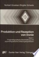 Produktion und Rezeption von Ironie