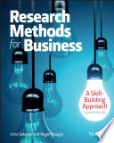 Research Methods For Business