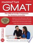 Official Guide Companion for Sentence Correction