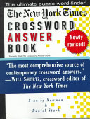 The New York Times Crossword Answer Book