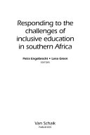 Responding to the challenges of inclusive education in Southern Africa