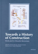 Towards a history of construction