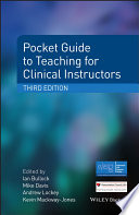 Pocket Guide to Teaching for Clinical Instructors
