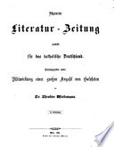 Allgemeine Literatur-Zeitung zunächst fūr das katholische Deutschland