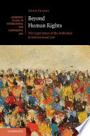 Beyond Human Rights