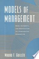 Models of Management