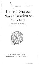 Naval Institute Proceedings