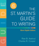 The St  Martin s Guide to Writing Short Edition   Documenting Sources in Mla Style 2009 Update