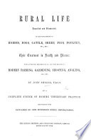 Rural Life Described And Illustrated In The Management Of Horses Dogs Cattle Illustrated With Steel Engravings book
