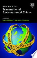 Handbook of Transnational Environmental Crime