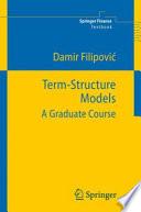 Term Structure Models