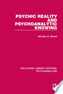 psychic-reality-and-psychoanalytic-knowing