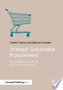 Strategic Sustainable Procurement