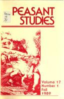 Peasant Studies