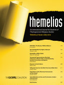 Themelios, Volume 37, Issue 2